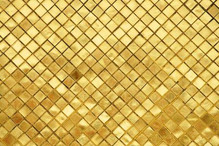 grunge golden tile texture background