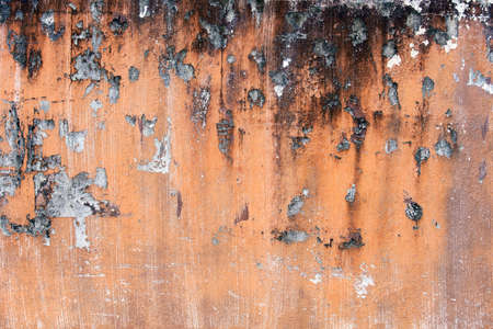 Close up of old and grungy textured of concrete wall background