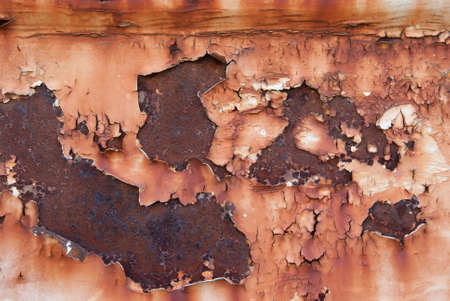 rusted: Abstract background of rusted metal surface