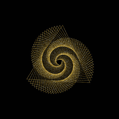 Sacred geometry vector illustration Ilustração