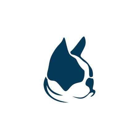 French bulldog vector illustration 向量圖像