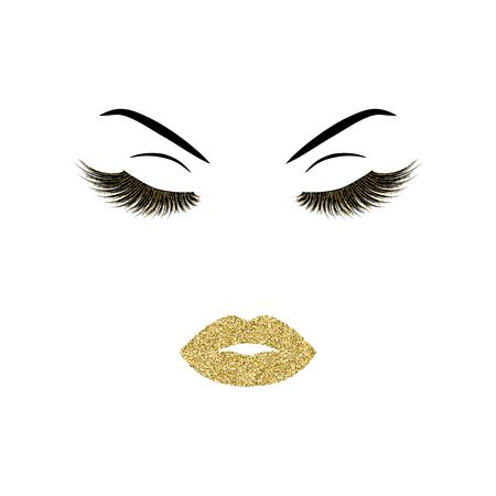 Make-up vector illustratie