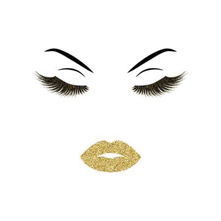 Makeup vector illustration Illustration