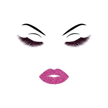 化粧のベクトル図