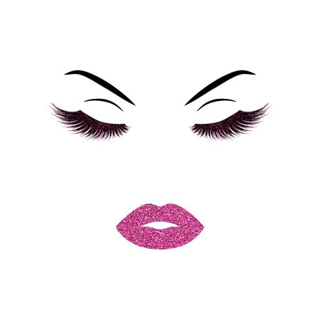 Makeup vector illustration Çizim