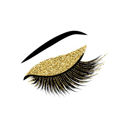 Lashes vector illustration 版權商用圖片 - 92274433