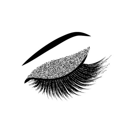 Lashes vector illustration