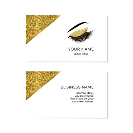 Makeup artist business card vector template royalty free cliparts makeup artist business card vector template stock vector 94591253 flashek Image collections