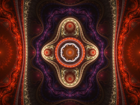 Grand julia set fractal, abstract background photo