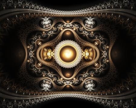 julian: Grand julian fractal, abstract background Stock Photo