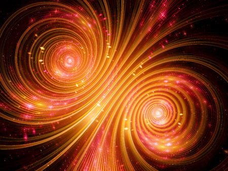 galactic: Galactic music, computer generated fractal background