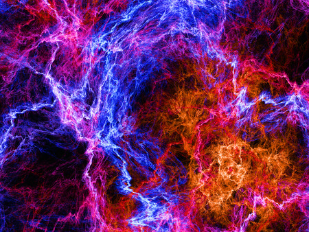 Abstract background plasma, computer generated abstract background photo