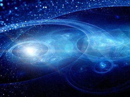 planetarnych: planetary systems with trajectories, glowing objects with flare Zdjęcie Seryjne