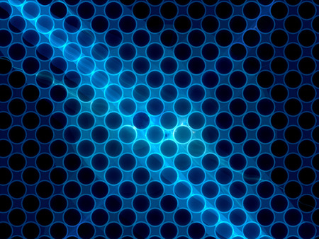 nanotubes: Cross section grid of nanotubes, computer generated abstract background, nanotechnology