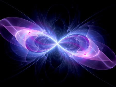 signo infinito: Símbolo de infinito colorido, generado por ordenador resumen de antecedentes