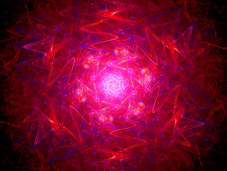 fusion: Colorful red glowing fusion, computer generated abstract background