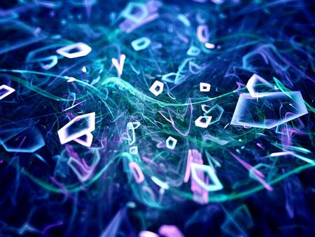 centro de computo: Flujo de datos en el ciberespacio, generado por ordenador resumen de antecedentes