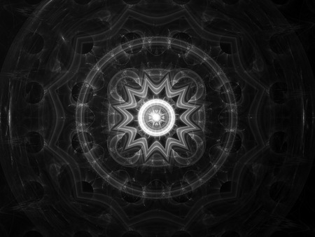 intensity: Mandala fractal intensity map, computer generated abstract effect, you can overlay or screen your image