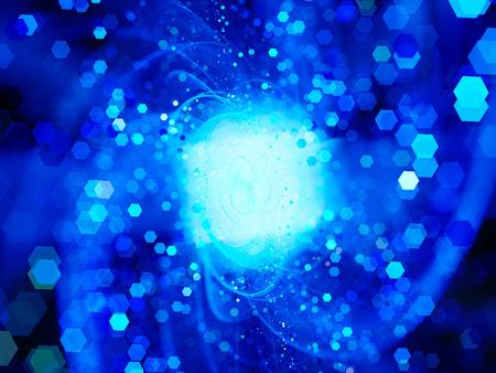 big bang: Big bang of future technologies, computer generated abstract background