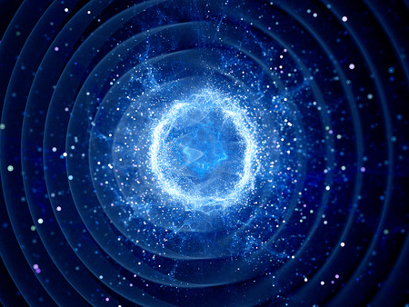 gravedad: Gravitaional onda de la explosión por un fuerte campo de fuerza, generada por ordenador resumen de antecedentes