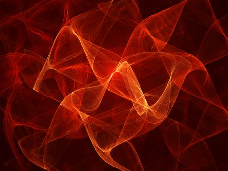 amarillo y negro: olas brillantes de fuego fractal, generado por ordenador resumen de antecedentes