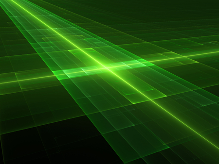 develope: New green technology fractal, computer generated abstract background