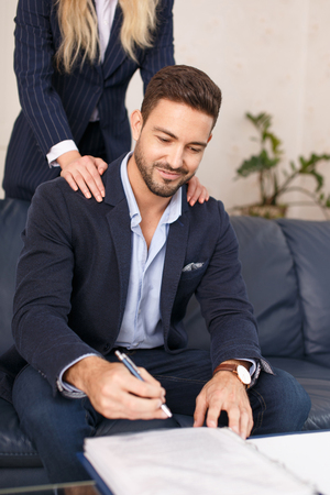 Office secretary seduction