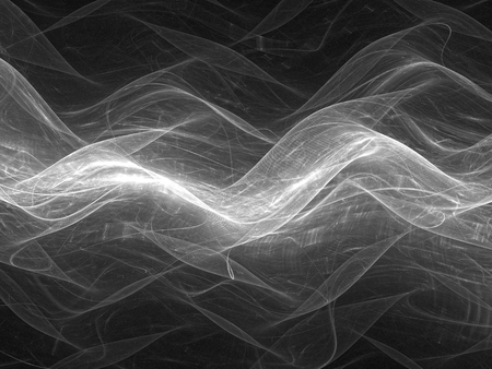 intensity: Wavy media stream, black and white, screen or overlay, computer generated abstract intensity map