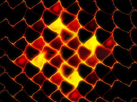 armageddon: Fiery lava background, computer generated abstract background, 3D render