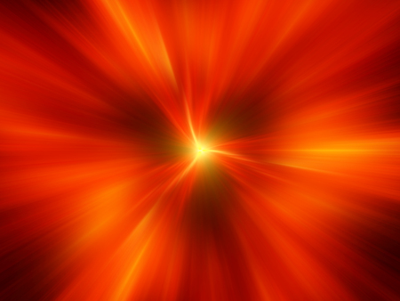 fiery: Fiery interstellar travel, computer generated abstract background, 3D rendering