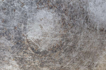 Grungy metal texture, abstract background, photography, circular details