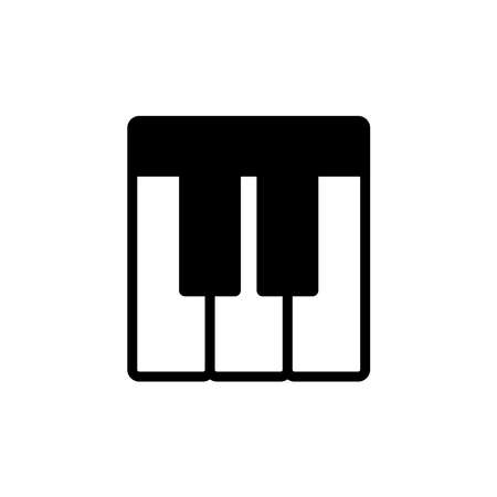 piano - music icon vector design template in white background and trendy style Stock fotó - 150599365