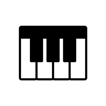 piano - music icon vector design template in white background and trendy style Stock fotó - 150599367