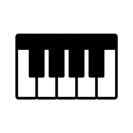 piano - music icon vector design template in white background and trendy style Stock fotó - 150599368