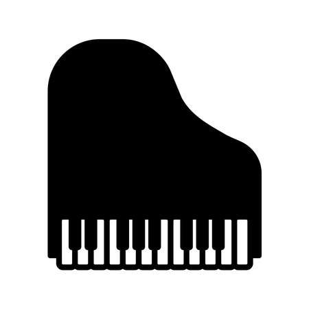 piano - music icon vector design template in white background and trendy style Stock fotó - 150599372