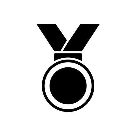 medal - reward icon vector design template in white background and trendy style