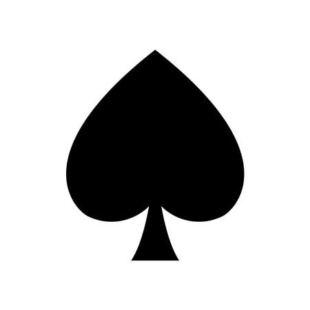 poker card - gambling - playing card icon vector design template