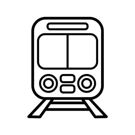 train - transportation icon vector design template in white background