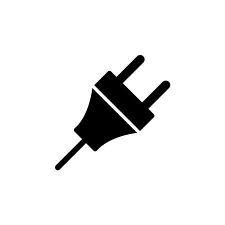 electric plug - electric symbol icon vector design template