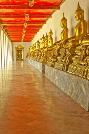 The way to peace. / wat pho thailand Stock Photo - 11481898