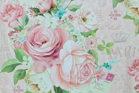 romantic rose pattern,floral pattern,winter Standard-Bild