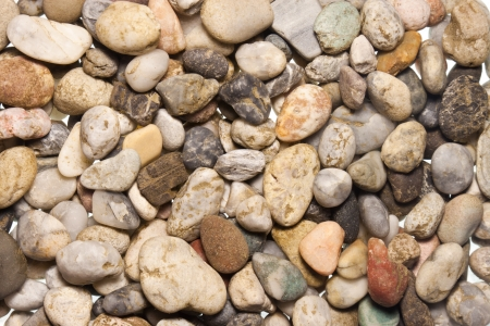 stones and pebble background. photo