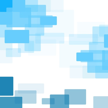 Abstract background of blue squares.