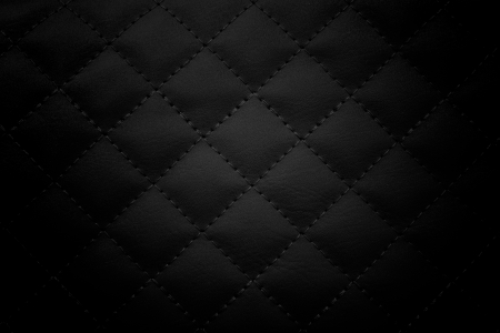 Black leather background,Black leather  texture.