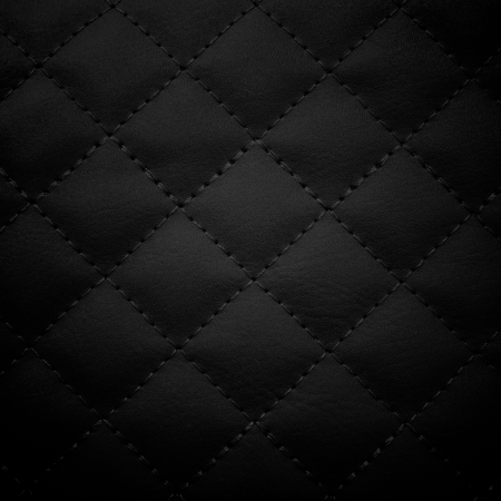 Black leather background,Black leather  texture. photo