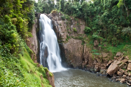 waterfalls in  Thailand.Heaw Narok waterfall photo