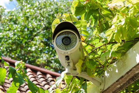 Security Camera or CCTV at home Archivio Fotografico