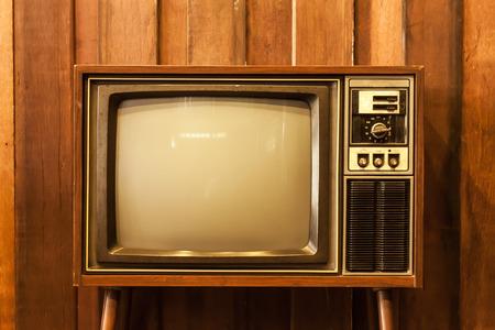 Retro television Archivio Fotografico