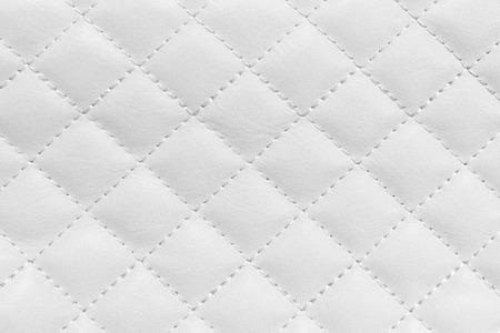 Fond blanc en cuir, fond de luxe. Banque d'images - 35387660