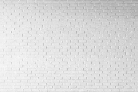 background white: pared de ladrillo de color blanco de fondo